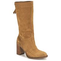 Shoes Women Boots NeroGiardini CITROUILLO Cognac