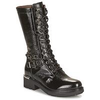 Shoes Women Boots NeroGiardini COURGO Black