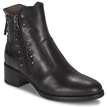 Shoes Women Ankle boots NeroGiardini ENDIVO Black