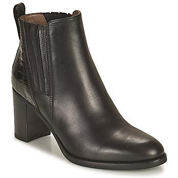 Shoes Women Ankle boots NeroGiardini FENOUILO Black