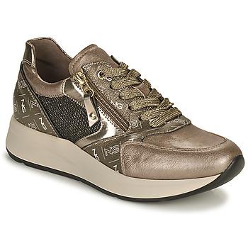 Shoes Women Low top trainers NeroGiardini GIROMONO Gold