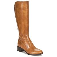 Shoes Women Boots NeroGiardini FEVO Cognac