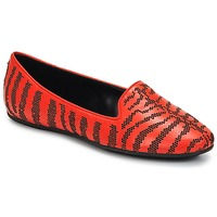 Shoes Women Loafers Roberto Cavalli TPS648 Red