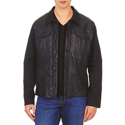 material Men Leather jackets / Imitation leather Chevignon BREWA Blue / MARINE