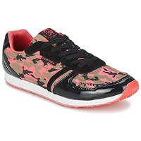 Shoes Women Low top trainers Diesel CAMOUFLAGE Camouflage
