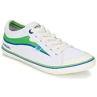 Shoes Men Low top trainers Diesel Basket Diesel Yellow