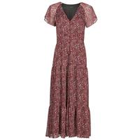 material Women Long Dresses Ikks HELIONA Red