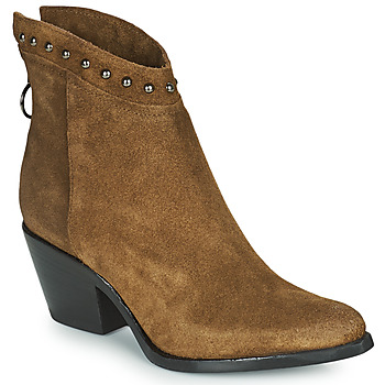 Shoes Women Ankle boots Mjus TEP Taupe