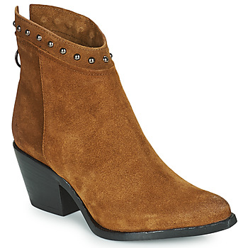 Shoes Women Ankle boots Mjus TEP Camel