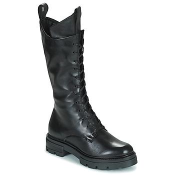 Shoes Women Boots Mjus BEATRIX HIGH Black