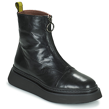 Shoes Women Mid boots Mjus BASE ZIP Black