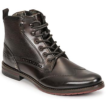 Shoes Men Mid boots Bugatti LUSSORIO EVO Brown