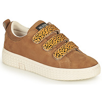 Shoes Women Low top trainers Palladium Manufacture TEMPO 10 SUD Camel