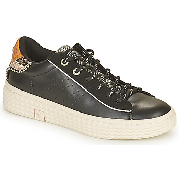 Shoes Women Low top trainers Palladium Manufacture TEMPO 04 SYN Black