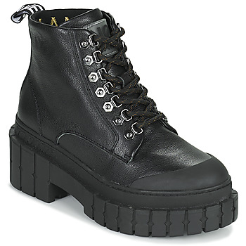 Shoes Women Mid boots No Name KROSS LOW BOOTS Black