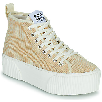 Shoes Women High top trainers No Name IRON MID Beige
