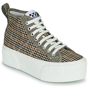 Shoes Women High top trainers No Name IRON MID Brown