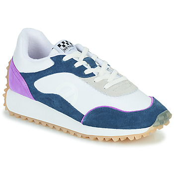 Shoes Women Low top trainers No Name PUNKY JOGGER White / Blue