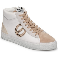 Shoes Women High top trainers No Name STRIKE MID CUT White
