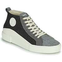 Shoes Men High top trainers Armistice FOXY MID LACE M Black