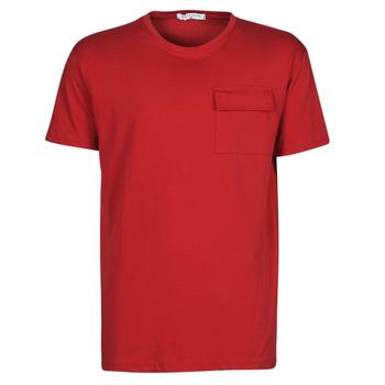 material Men short-sleeved t-shirts Yurban ORISE Red
