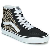 Shoes Women High top trainers Vans SK8-HI Black / Safari