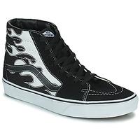 Shoes Men High top trainers Vans SK8-HI Black / Grey