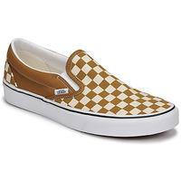 Shoes Men Slip ons Vans CLASSIC SLIP ON Brown / Beige