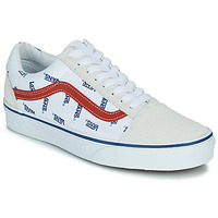 Shoes Low top trainers Vans OLD SKOOL White / Blue