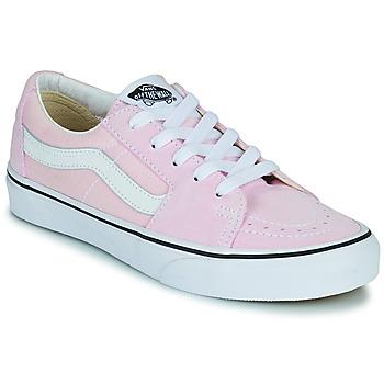 Shoes Women Low top trainers Vans SK8-LOW Pink