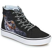 Shoes Boy High top trainers Vans SK8-HI Black