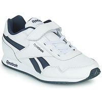 Shoes Boy Low top trainers Reebok Classic REEBOK ROYAL CLJOG White / Marine