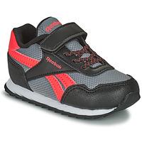 Shoes Children Low top trainers Reebok Classic REEBOK ROYAL CLJOG Black / Red