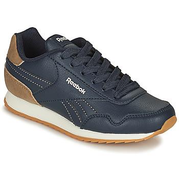 Shoes Children Low top trainers Reebok Classic REEBOK ROYAL CLJOG Marine / Brown
