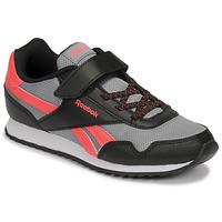 Shoes Boy Low top trainers Reebok Classic REEBOK ROYAL CLJOG Black / Red