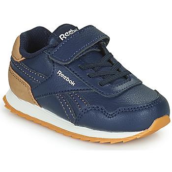 Shoes Boy Low top trainers Reebok Classic REEBOK ROYAL CLJOG Marine / Brown