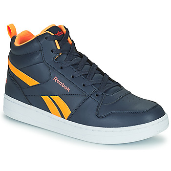 Shoes Children High top trainers Reebok Classic REEBOK ROYAL PRIME Marine / Orange