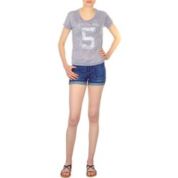 material Women Shorts / Bermudas School Rag SAILOR COMFORT Blue