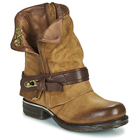 Shoes Women Mid boots Airstep / A.S.98 SAINT BIKE Camel