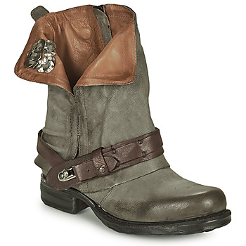 Shoes Women Mid boots Airstep / A.S.98 SAINT BIKE Grey
