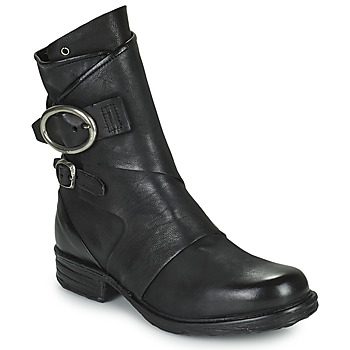 Shoes Women Mid boots Airstep / A.S.98 SAINTEC DOUBLE Black