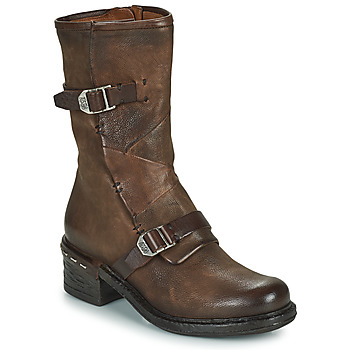 Shoes Women Ankle boots Airstep / A.S.98 NOVASUPER BUCKLE Brown