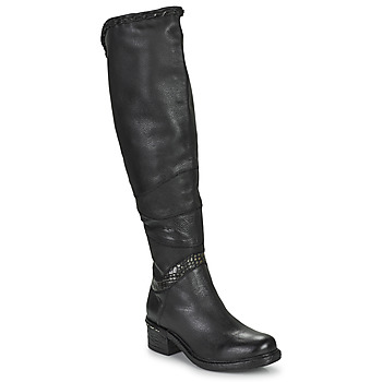 Shoes Women High boots Airstep / A.S.98 NOVASUPER HIGH Black