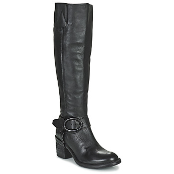 Shoes Women Boots Airstep / A.S.98 JAMAL HIGH Black