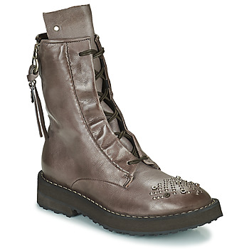 Shoes Women Mid boots Airstep / A.S.98 CHIMICA Brown