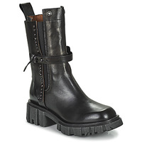 Shoes Women Mid boots Airstep / A.S.98 HELL STUD Black