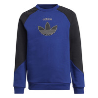 material Children sweaters adidas Originals ROUGED Marine / Black