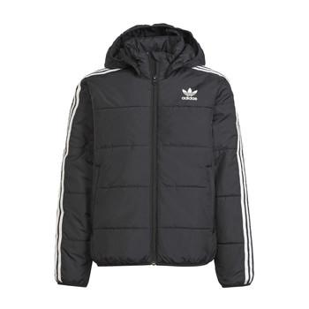 material Children Duffel coats adidas Originals SOLITARE Black