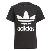 material Children short-sleeved t-shirts adidas Originals CHANTIS Black