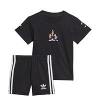 material Boy Sets & Outfits adidas Originals COTES Black
